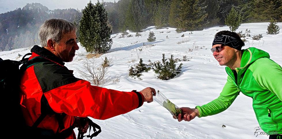 #6 Schneeschuhwanderung im Naturpark Zirbitzkogel-Grebenzen am 28.02.2016