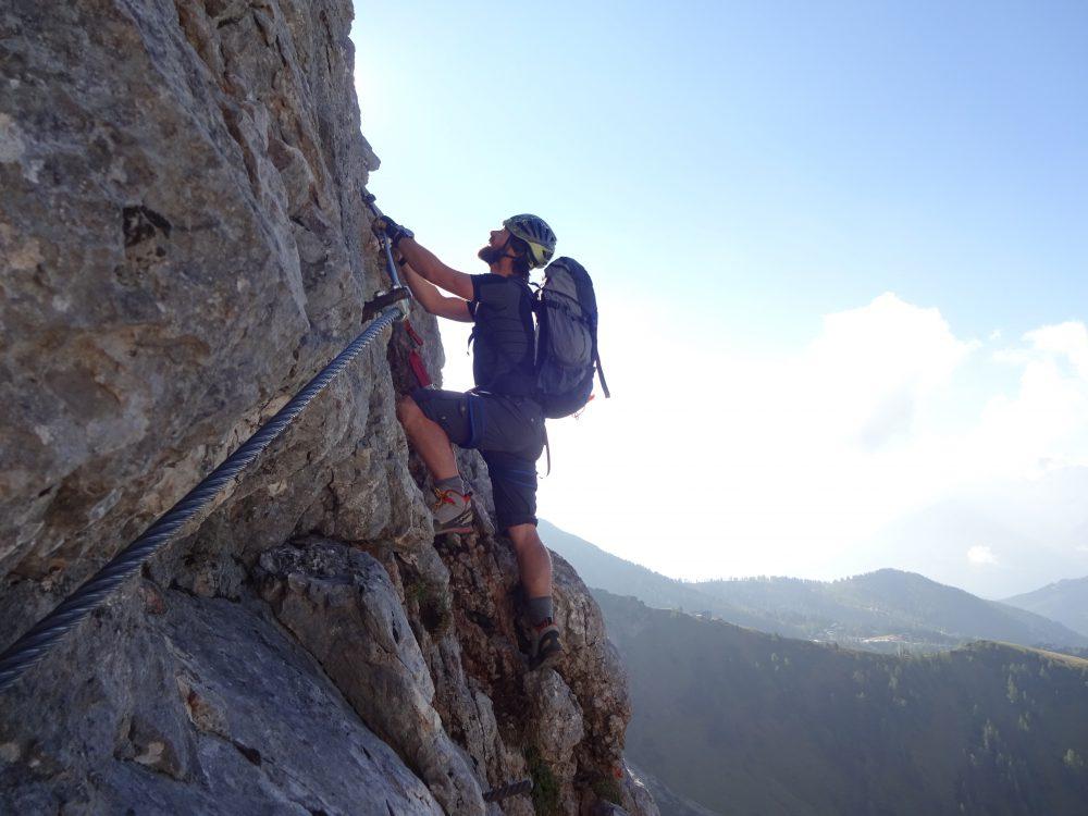 Eisenerzer Klettersteig : 2018 b15 metall n rock herbst focusguide